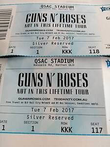 guns and roses tickets for tonight Mount Mee Caboolture Area Preview