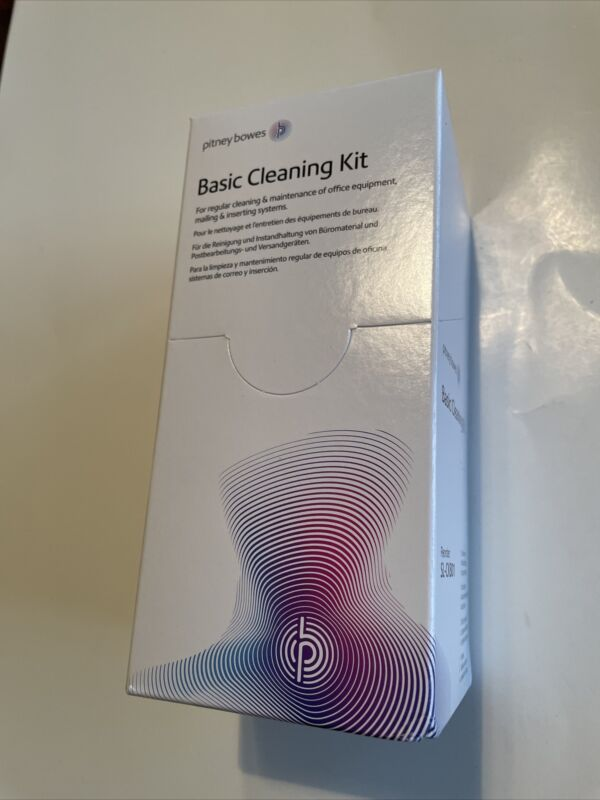 Pitney Bowes Basic Cleaning Kit  SL-CK801 NEW