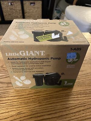 Little Giant 1-abs Condensate Pump1150 Hp120 Volt 550523