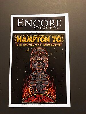 Hampton 70: Col. Bruce Hampton's 70th Birthday Celebration Program - Fox Theate