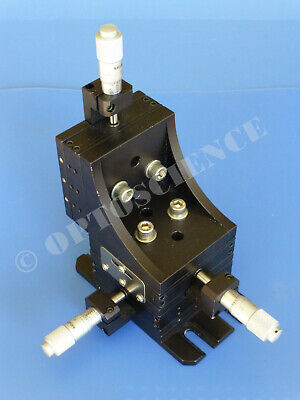 Thorlabs Mt3 Xyz Linear Translation Stage 3-axis With Micrometers 0.5 Range