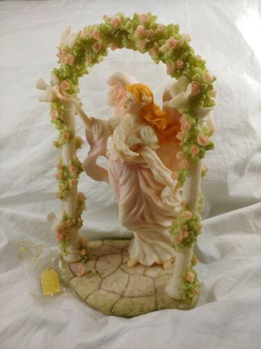 "(1998) Seraphim Classics Cassandra ""Heavenly Beauty"" 9 1/2"" Tall Angel Figurine"