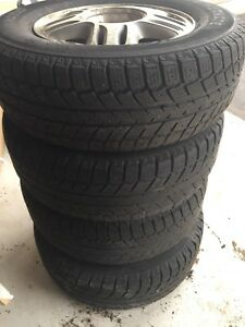 Winter tire 215/70R15 98T  $200.00