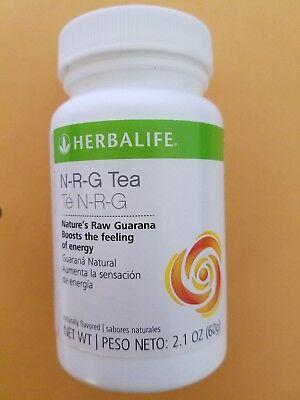 Herbalife Guarana NRG Tea 2.1 oz. New & Sealed.