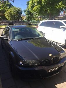 BMW E46 2001 330ci Automatic - Black coupe Msports Trinity Gardens Norwood Area Preview