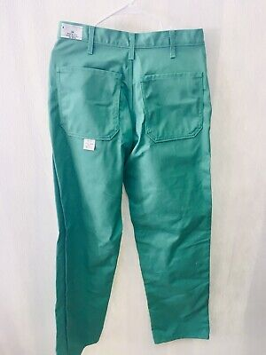 NEW Banox Welding Pants Flame and Arc Resistant Blue Multiple Sizes