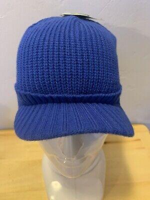 BULA MALCOM CAP SKI SNOWBOARD WINTER KNIT BEANIE HAT SOLID BLUE