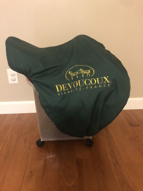 "Devoucoux Chiberta Monoflap Saddle 17.5"""