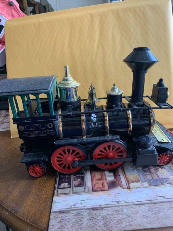 VINTAGE JIM BEAM 1872 GRANT TRAIN #197 LOCOMOTIVE ENGINE BOURBON DECANTER