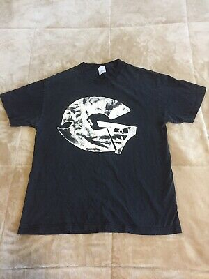GZA Shirt Wu Tang Rap Liquid Swords RZA Genius Hip Hop L Rare Vintage
