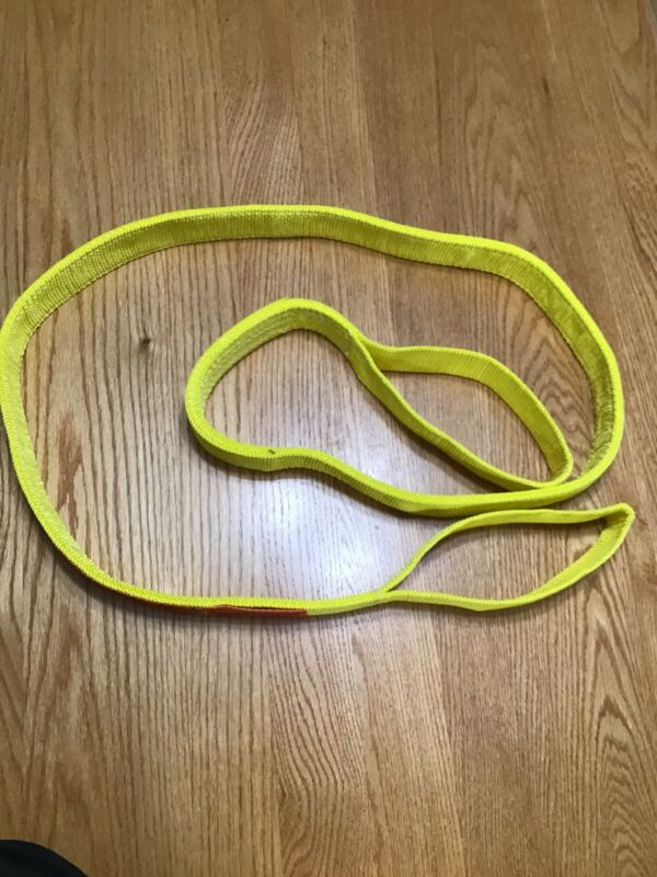 "Lift All 8' Ft Flat Eye And Eye Type 3 Hoist Rigging  Sling Webmaster 2"" Wide."