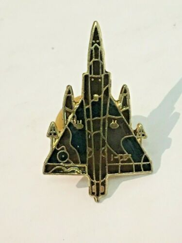 Vintage Mirage French Fighter Jet Aircraft Pin