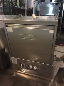 Hobart high temp dishwasher