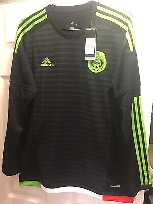 48ec35020 Adidas Mexico 15/16 Home Soccer Jersey - Large Long Sleeve