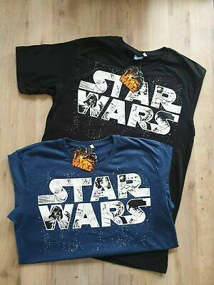 NEW Star Wars Logo Manga Style Blue Black Retro T-Shirt Men's Women's T-Shirts