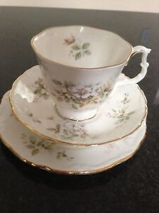 Royal Albert 18 piece Haworth tea set - brand new Tusmore Burnside Area Preview