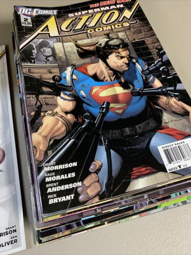ACTION COMICS Issues 2-22 Annual 1 THE NEW 52! [DC 2011] VF/NM or Better!