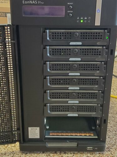 Infortrend EonNAS Pro 800 ENP800MC-0030 - 8 bay NAS (no drives)
