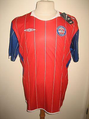 1.FC Brno home Czech football shirt soccer voetbal trikot maillot BNIB size L image