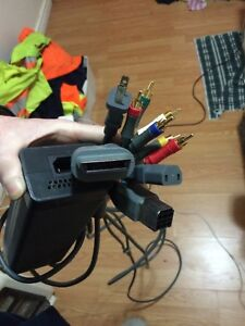 XBOX 360 TV and Power cables