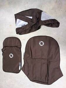 Bugaboo Cameleon fabric set in Brown. 3 Pieces Hornsby Hornsby Area Preview