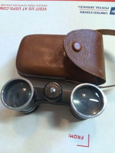 Vintage Occupied Japan PRIDE Binoculars with Leather Case!!!!!!!!!!!