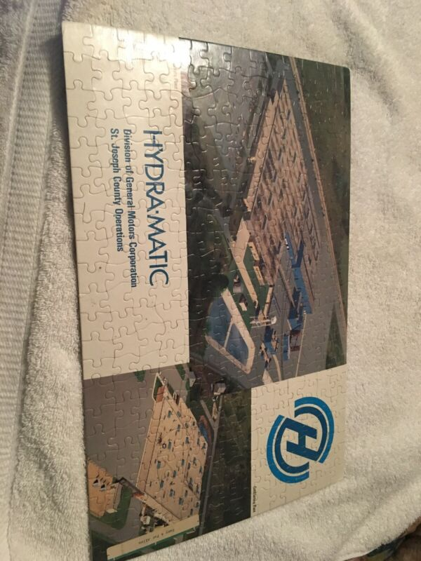 Vintage Hydra-Matic Division Of General Motors St. Joseph County Puzzle Sealed