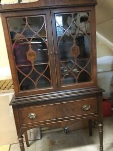 Thomasville sideboard and china cabinet