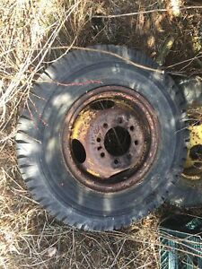 Old wagon tires