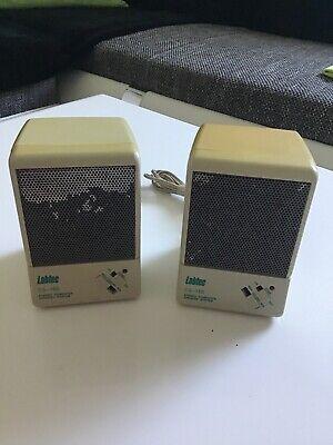 Computer Stereo Lautsprecher -Labtec CS-150- Vintage