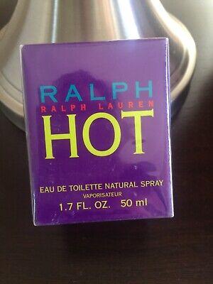 RALPH LAUREN HOT 1.7  Eau De Toilette RARE! Discontinued Sealed Box For Women