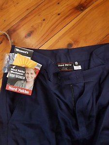 4x womens hard yakka work pants with reflective stripes Woolooware Sutherland Area Preview