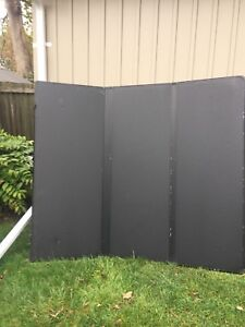 Tonneau cover, try-fold