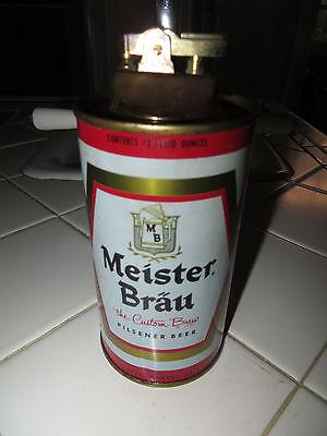Vtg 1967 Meister Brau Pilsener Beer Tabletop Cigarette Lighter-Chicago Toledo