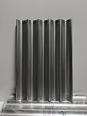One Pan Focus Foodservice Perforated Baguette Pan - 5 Long Molds 18x26 905005