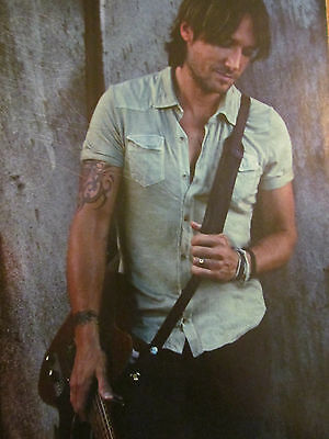 Keith Urban, Full Page Pinup