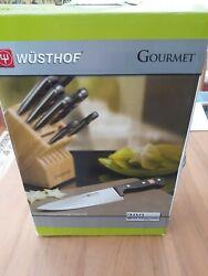 Wusthof Classic 7 Piece Kitchen Knife Block Set