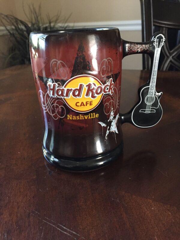 Hard Rock Cafe Nashville 3D Mug Guitar Handle