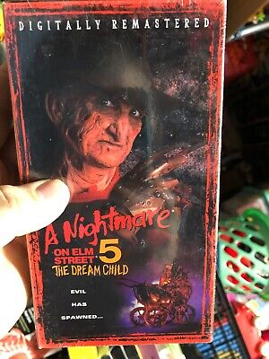 Brand New Sealed A NIGHTMARE ON ELM STREET Part 5 The Dream Child