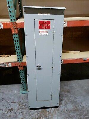 Cutler Hammer Prl3 400a Panel 208y120 Vac 3p 4w Mlo N3r 20 X 60