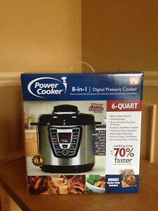 BRAND NEW still in box instant pot, power cooker