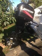 90hp Mercury outboard 25 hrs new Morayfield Caboolture Area Preview