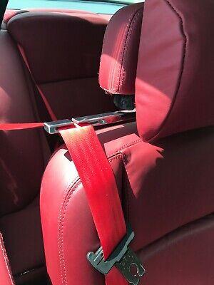 JENSEN INTERCEPTOR MK3 Mark III 1971-1976 ALUMINIUM SEAT BELT GUIDE TIDY SET