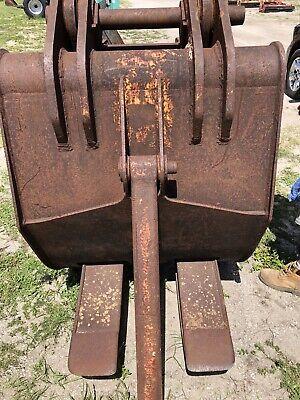 Labounty Excavator Grapple Attachment 80 Mm Pins Stiff Arm Fits 200 Size Ex