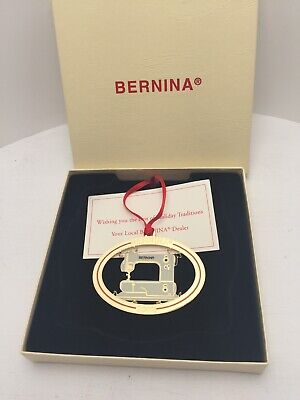 Bernina 2002 Holiday Christmas Ornament Sewing Machine Model 125 in box Dealer