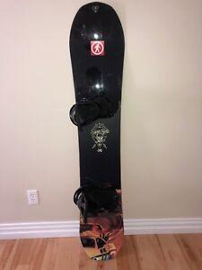 Snowboard Package (Snowboard, Bindings, Boots, Helmet and Bag)