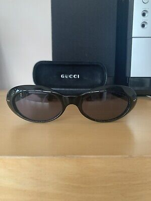 Original Vintage Gucci Black Sunglasses GG2413