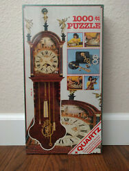 NEW Jumbo Working Grandfather Clock Jigsaw Puzzle 1000 Pieces in sealed box