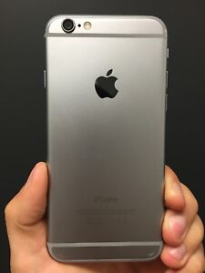 IPHONE 6 space grey 128gb mint condition no cracks refurbished/mint
