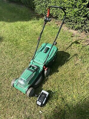 Qualcast 36V 38cm Cordless Garden Lawnmower - No Battery  Comes With Charger
